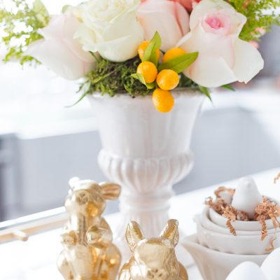 Sweet Spring vignette two ways