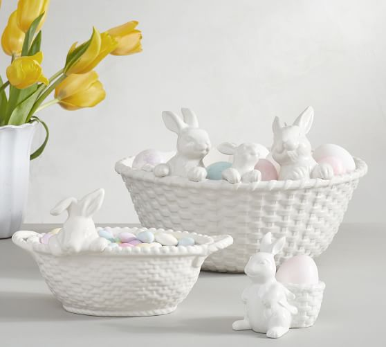 Bunny Bowl Inspired By Pottery Barn