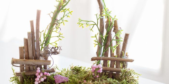 Fairy Garden Starter Kit and How to Make a Fairy Garden Gate