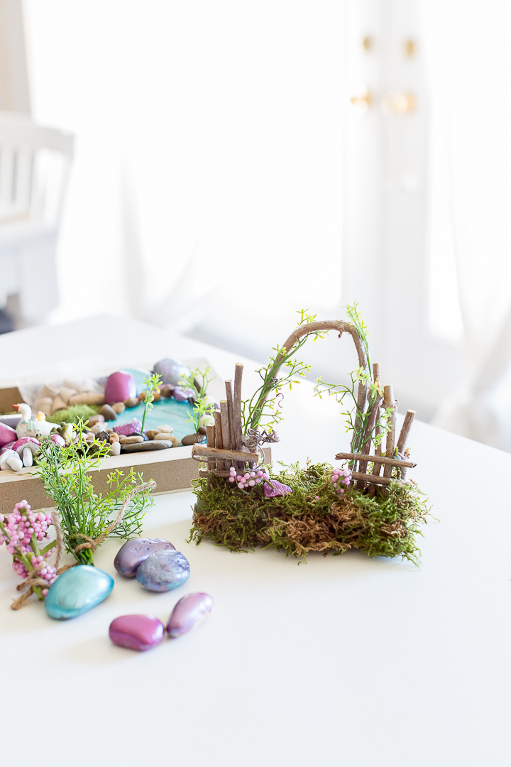 Fairy Garden Starter Kit And How To Make A Fairy Garden Gate