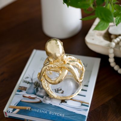 Anthropologie Gilded Octopus Knockoff