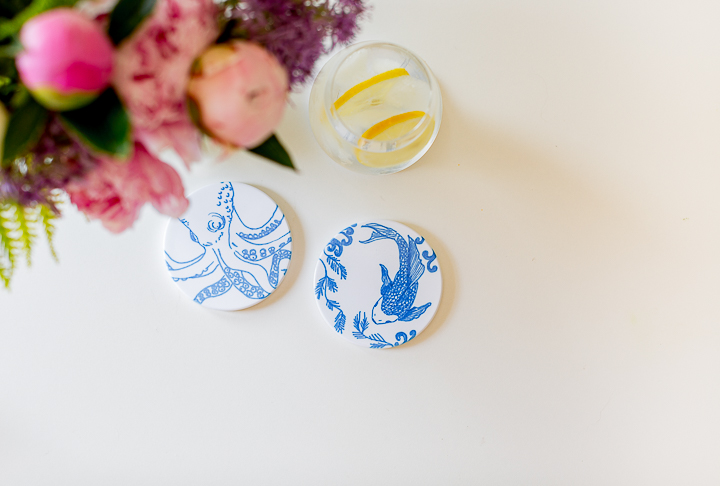 Diy Coasters With New Cricut Infusible Ink