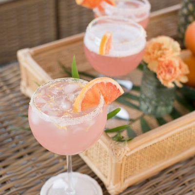 Grapefruit Pineapple Margarita