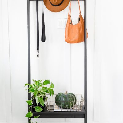 Portable Coat Rack DIY