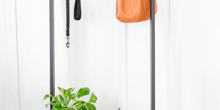 Portable Coat Rack DIY