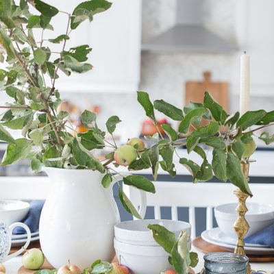 Apple Branch Tablescape