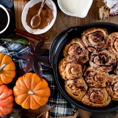 Pumpkin Spice Cinnamon Roll Hack