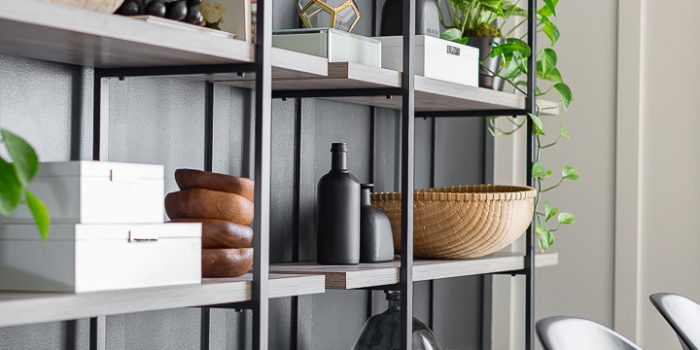 New soft industrial shelving unit