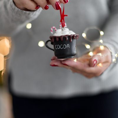 Dollar Store Christmas Ornament DIY