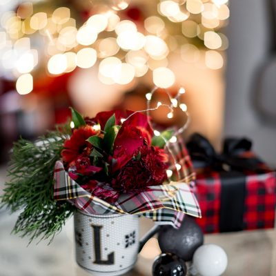 Petite Christmas Bouquet Gift