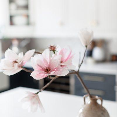 Crepe Paper Magnolia DIY