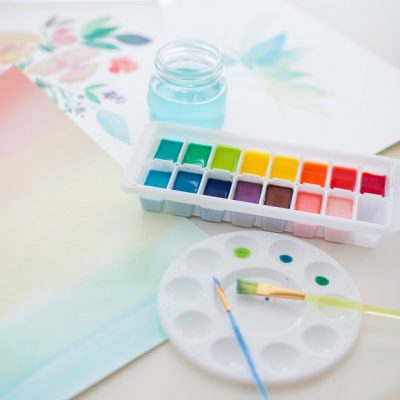 Homemade Watercolor and Watercolor Material Guide