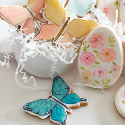 Painted Easter Cookie Gift