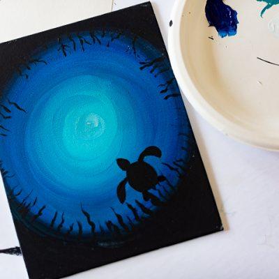 Under the Sea- Art lesson 1