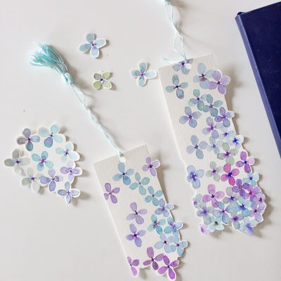 Mother's Day Watercolor Bookmark