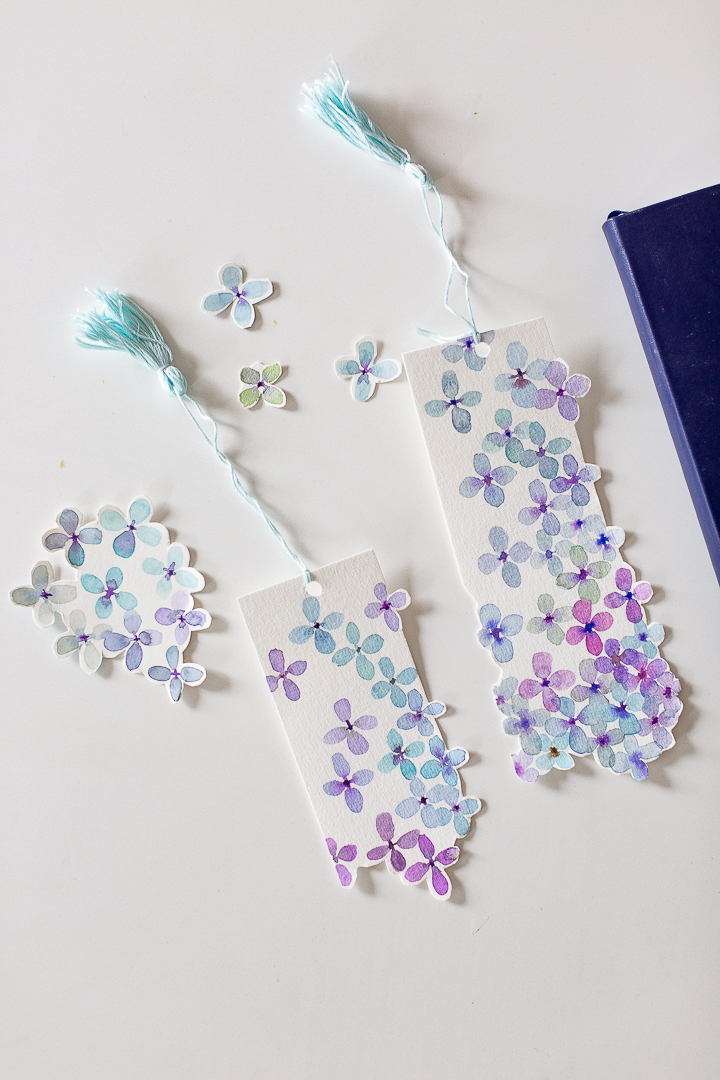 Mother S Day Watercolor Bookmark