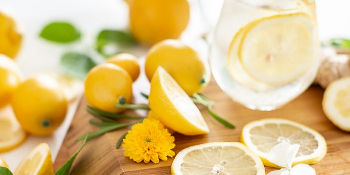 Lemon and Ginger Water Cleanse