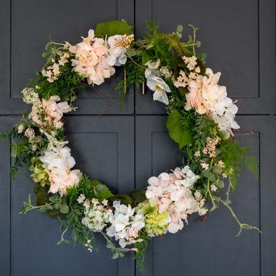 Hydrangea Summer Wreath