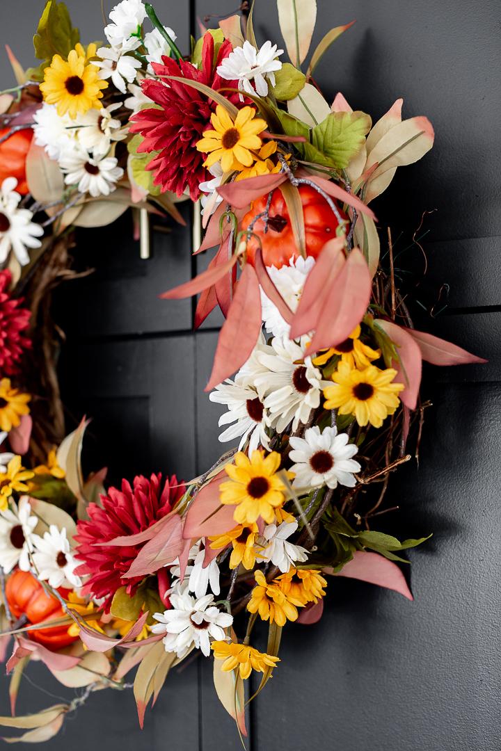 Dollar Store Fall Wreath Diy