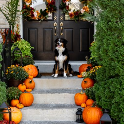 Traditional Fall Porch 2020
