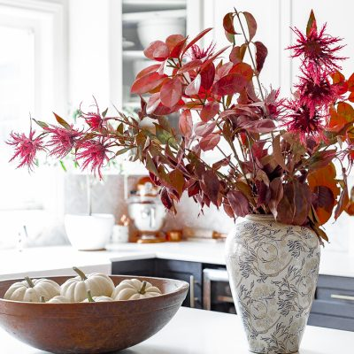 Touches of Fall in The Kitchen