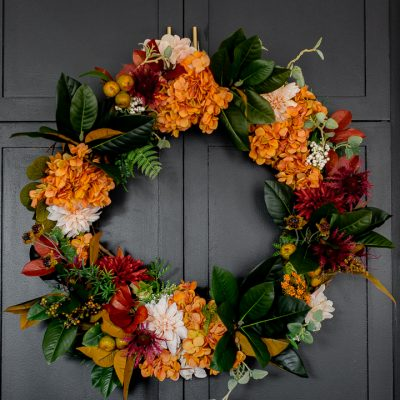Colorful Fall Wreath