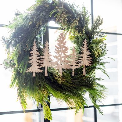Dollar Store Wreath Makeover
