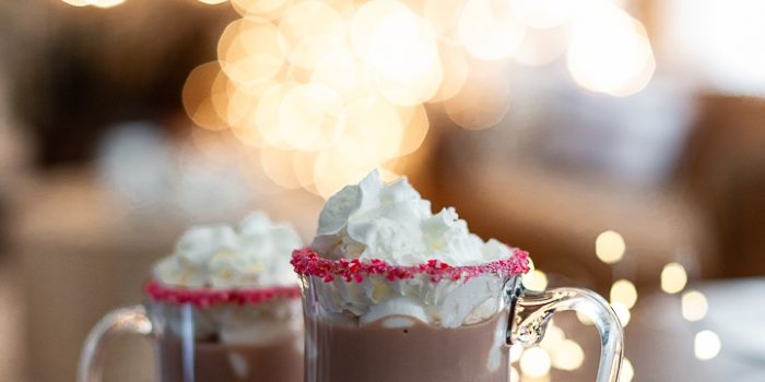 Hot Cocoa with Peppermint Schnapps