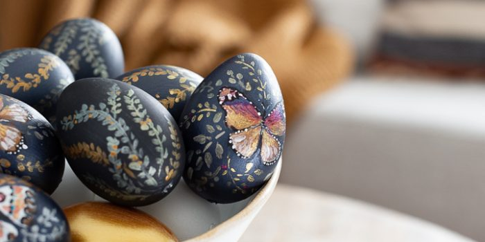 Hand Painted Designer Easter Eggs