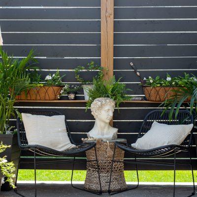 Small Backyard Sitting Area