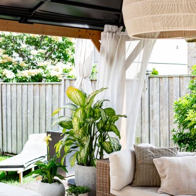 Suburban Outdoor Sitting Area